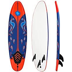 Giantex 6' Surfboard Surf Foamie Boards