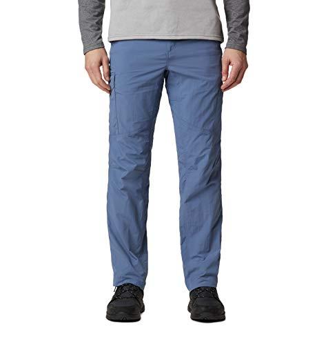 Columbia Silver Ridge Cargo Pant Silver Ridge - Pantalón Cargo para Hombre, Hombre, 1441681, Bluestone, 42W / 30L