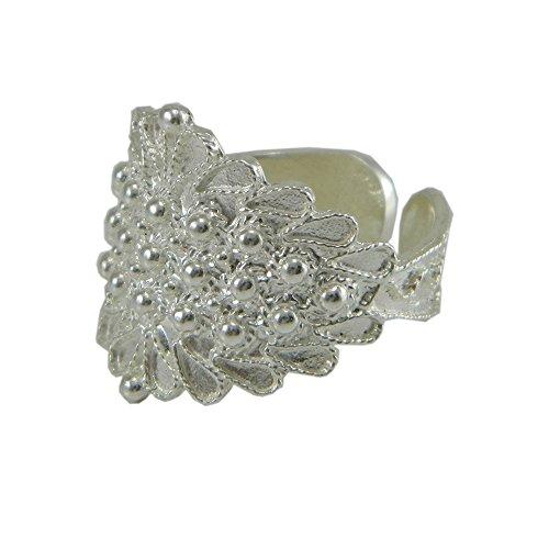 Anello fede sarda larga filigrana argento GIOIELLO SARDEGNA