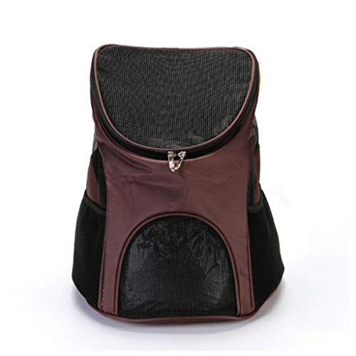 Pet Dog Carrier Cat Outdoor Travel Carrier Packbag Portable Double Shoulder Backpack Bag Mesh...