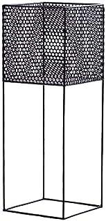 YASE-king オプションの金属単層プラントスタンド単一フロアの花棚フレームインドアグリーン工場シェルフ三色70.5×25×25センチメートルプラントスタンド(色:ブラック)