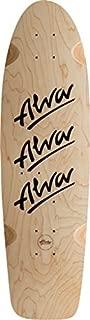 ALVA 1979 TRI-LOGO SKATEBOARD DECK-10x30 NAT/BLK w/grip w/MOB GRIP