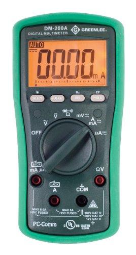 Greenlee - Dmm, 1000V Ac/Dc (Dm-200A), Elec Test Instruments (DM-200A)