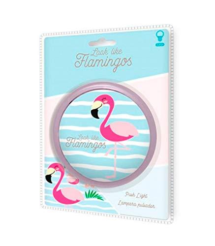 KIDS LICENSING pulsador de Flamencos Lamparas Hogar UNISEX INFANTIL, Multicolor (Multicolor)