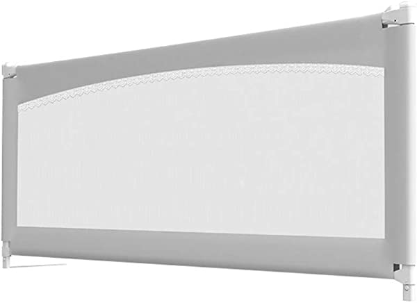 学步儿童床轨安全床轨护板垂直升降保护护板防摔护板辅助超长高护板可转换婴儿床大号床尺寸 180x70 80厘米