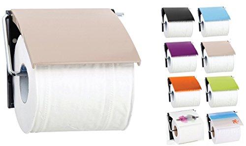 """MSV Bad Serie""""Beige"""" Toilettenpapierhalter WC Rollenhalter Papierhalter Klopapierhalter"""