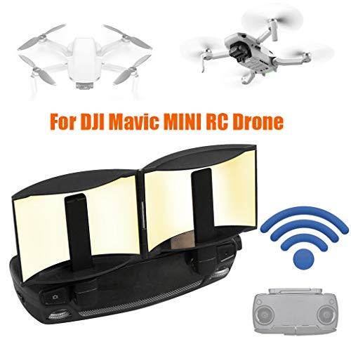 CUEYU Fernbedienung Antenne Signal Booster Range Extender für DJI Mavic Mini,Aluminium Fernbedienung Antenne Range Extender Kompatibel mit DJI Mavic Pro/Mavic 2/Mavic Air/Spark