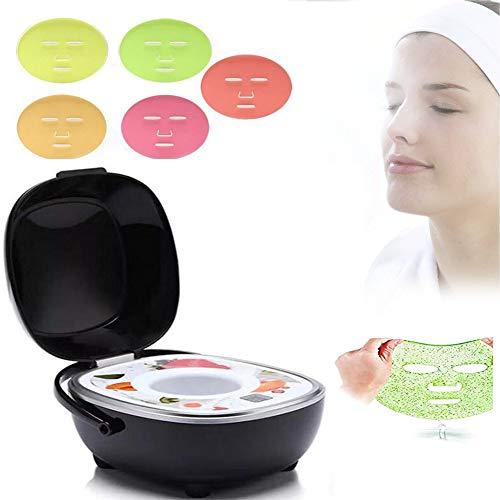JYY Frucht-Gesichtsmaske Maschine, DIY die Maschine automatische persönliche Maske herstellt Schönheits-Gerät für das Abbau-Akne-Weiß Werden Macht