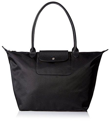 Longchamp Damen Le Pliage Neo Tote Bag, Schwarz (Noir), 19x30x31 cm