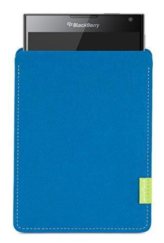 WildTech Sleeve für BlackBerry Passport Hülle Tasche - 17 Farben (Handmade in Germany) - Petrol