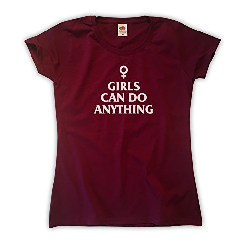 Outsider. Girls Can Do Anything Camiseta para Mujer