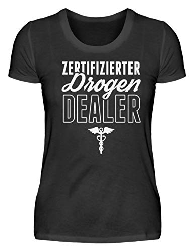 Camiseta para mujer Chorchester Perfekt fr Jeden Coolen Apotheker Negro L