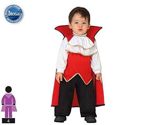 Atosa 26772 Disfraz vampiro 6-12 meses, talla niño