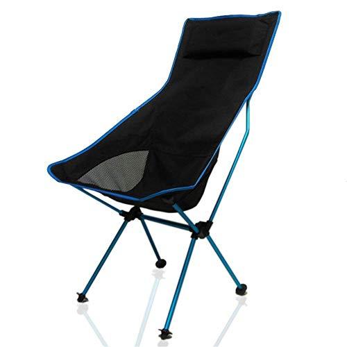 LHQ-HQ Los Pescados portátiles Pesca Silla de Luna Silla sillas de Camping Ligeros Asiento Ultraligero mobiliario de Oficina