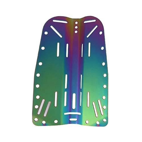 Sharplace Placa Posterior del Arnés de Buceo Profesional para Deportes Acuáticos Subacuáticos de Buceo