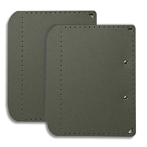プラス A5サイズにおりたためる A4クリップボード+ ダークグレー 83-161 ×2冊 FL-502CP/83-161×2