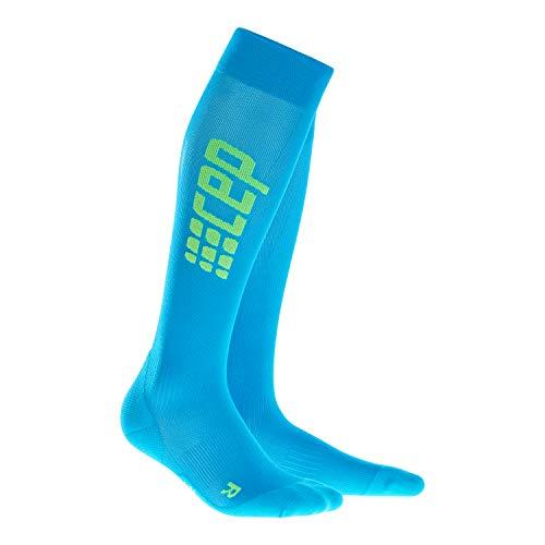 CEP - RUN ULTRALIGHT SOCKS, extra light running socks for men, blue, size V