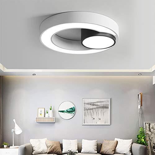 Plafondlamp met intelligente besturing – super heldere led-plafondlamp, 5500 mm diameter, geschikt voor slaapkamer, woonkamer, balkon en badkamer – drie jaar garantie