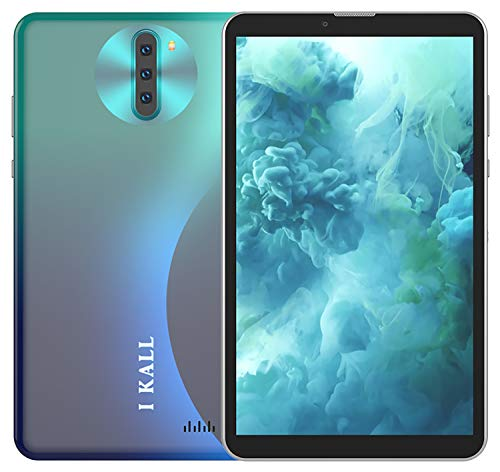 I KALL N3 4G Calling Tablet (7 Inch, 4GB Ram, 32GB Storage, Dual Sim + Calling + WiFi) (Green)