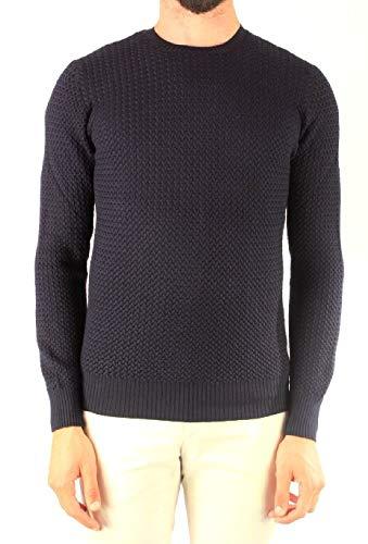 Luxury Fashion | Gran Sasso Heren 5713514280598 Donkerblauw Wol Truien | Herfst-winter 19