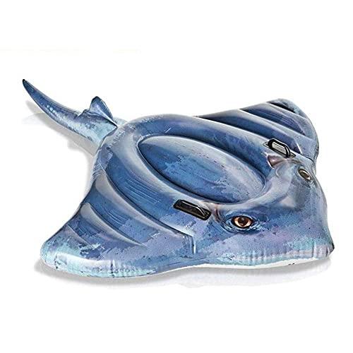 XiYou Balsa Flotante Inflable Hamaca de Agua Multifuncional Piscina Balsa Inflable Piscina Aire Ligero Silla Flotante Estera de Piscina portátil compacta