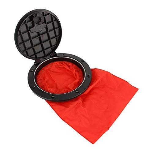 Alomejor Cubierta de la Placa de la Cubierta de la Cubierta del Kayak Cubierta de la Cubierta extraíble con Bolsa roja para el Barco de la Marina del Kayak