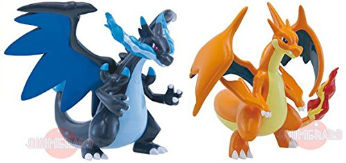TOMY Official Pokemon Charizard & Mega Charizard 4