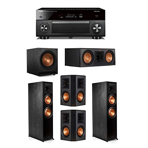 Check Out This Klipsch 5.1.2 System - 2 RP-8060FA Speakers,1 RP-600C,2 RP-502S Speakers,1 SPL-120,1 ...