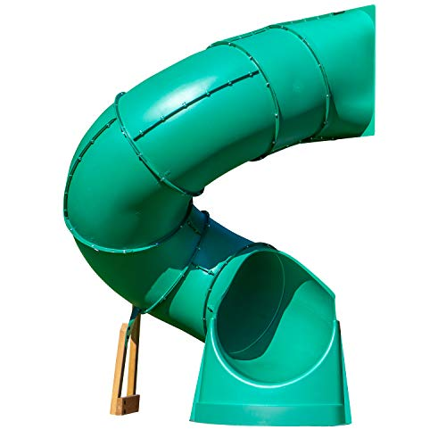 Backyard Discovery Tall Spiral Tube Slide  Left Exit