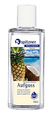 """Saunaaufguss """"Ananas-Kokos"""" (190 ml) von Spitzner"""