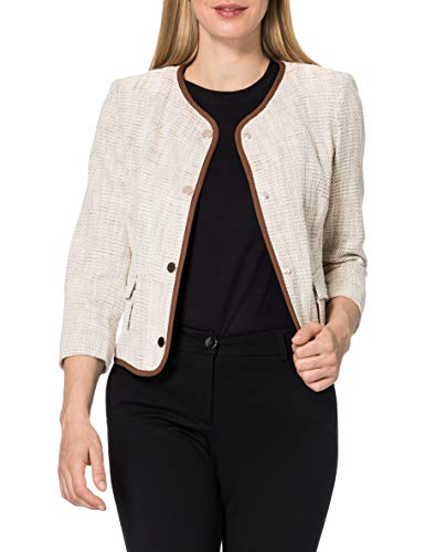 United Colors of Benetton (Z6ERJ) Giacca 2H9D52433 Chaqueta, Beige 88f, 38 para Mujer