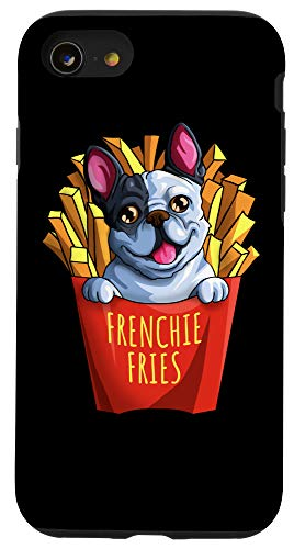 iPhone SE (2020) / 7 / 8 Frenchie Fries Fanatics Funny French Bulldog for Dog Lovers Case