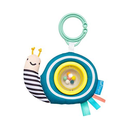 Taf Toys Hochet à boule Scotty l'escargot