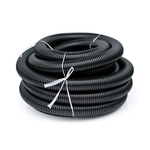 Bautec - Aspirapolvere professionale da 100 litri (tubo 5 m)