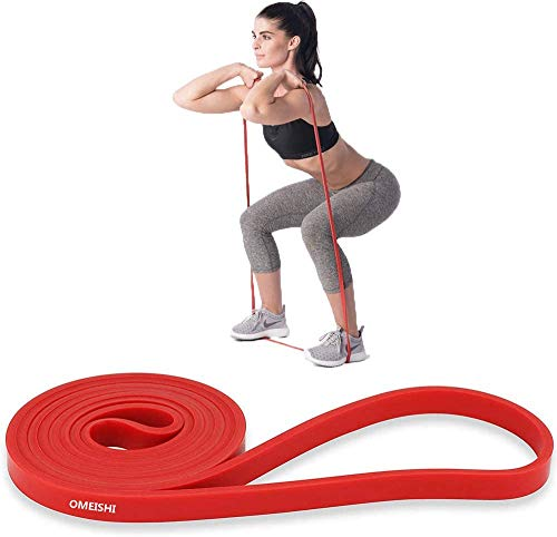 omeishi Pull Up Bands, Resistance Bands, Workout Exercise Bands,Pull Up Assist Band Exercise Resistance Bands for Body Stretching, Powerlifting, Resistance Training