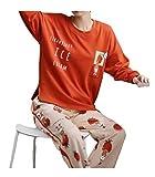 Mujer de Chicas Algodón Navidad Pijama Traje Amistoso Precio/H/M