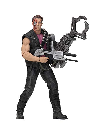 NECA Figur Terminator w/Power Arm T-800, Mehrfarbig (634482519219)