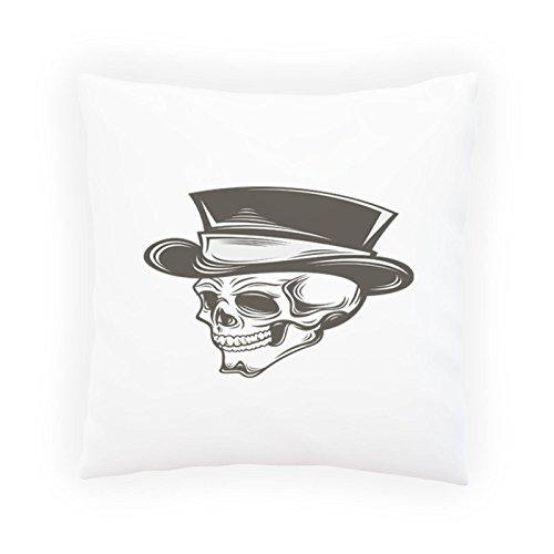 Crâne Inspiration Vintage Funny Nouveauté Taies d'oreillers décoratif, Housse de coussin avec insérer ou sans, 45x45cm b114p