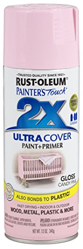 Rust-Oleum 249119-6 PK Painter's Touch 2X Ultra Cover, 6 Pack, Gloss Candy Pink