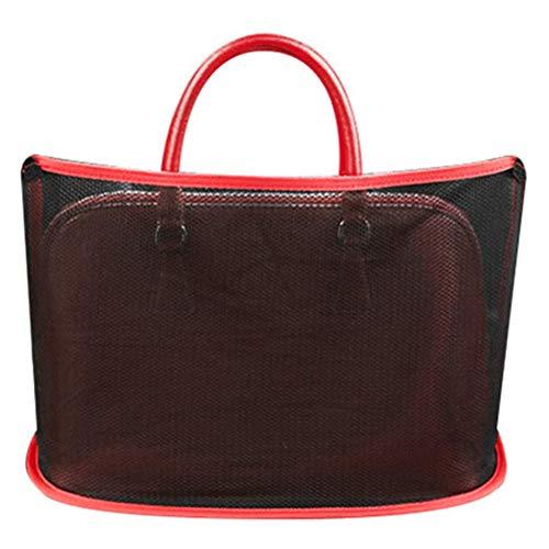 Car Net Pocket Handtaschenhalter Aufbewahrung Net Bag Car Aufbewahrungstasche Car Trunk Aufbewahrungstasche für Handtasche Taschen Dokumente Telefon Wertsachen