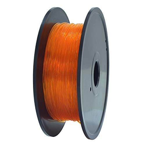 GEEETECH TPU Filamento flexible 1.75mm Naranja, 3D Drucker Filament 400g 1 Spool…