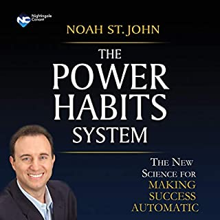 The Power Habits System audiobook cover art