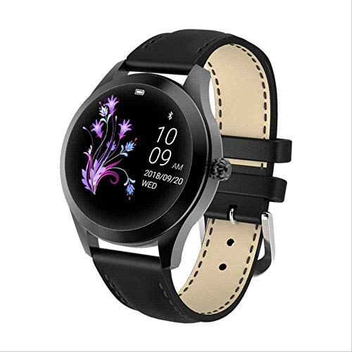 hwbq Reloj de fitness con pantalla táctil a color, Bluetooth IP68, impermeable, rastreador de actividad física, contador de calorías