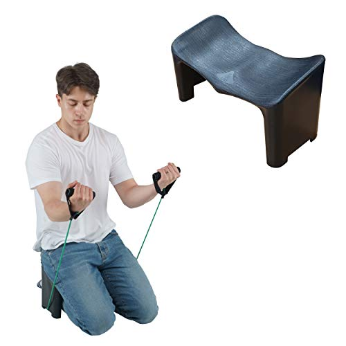 (OTZRO PP) New Ergonomic Meditation Bench,Perfect Kneeling Stool for Back Pain Relief Product | Lightweight and Portable Non-Slip and Hip-Shape Seatrest Design.No.1 Posture Support. (Fixed Type)