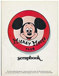 Mickey Mouse Club Scrapbook