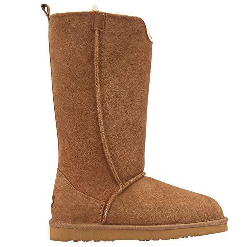 Lamo Women's Bellona Tall Fashion Boot, Chestnut, 8 M US
