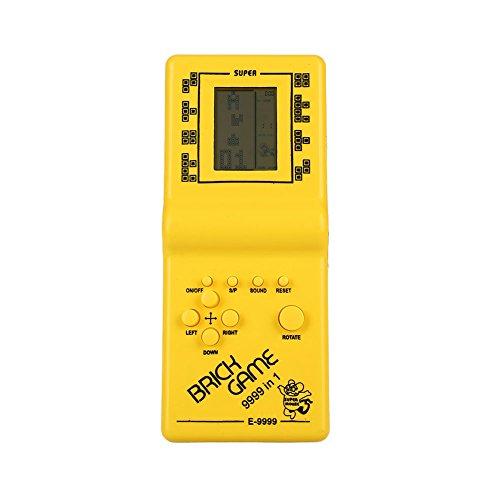 Hanbaili Tetris Retro clásico de Mano LCD Juego electrónico Toy Fun Brick Juego Riddle Toys