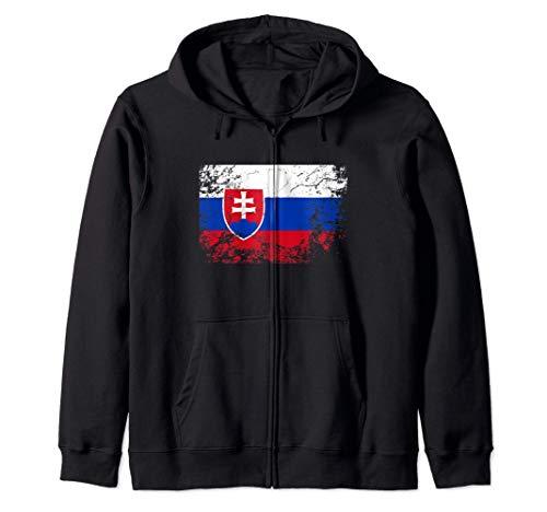 Bandera de eslovaquia - Slovakia Flag Sudadera con Capucha