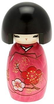 Usaburo Japanese Kokeshi Doll Akiko s Purple Kimono
