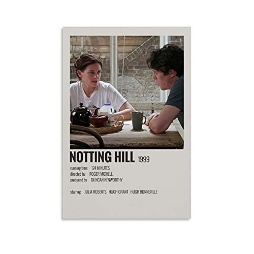 lxgj Poster minimalista di film Notting HILL poster su tela di canapa stampa artistica moderna decorazione da parete per camera da letto, soggiorno, 40 x 60 cm